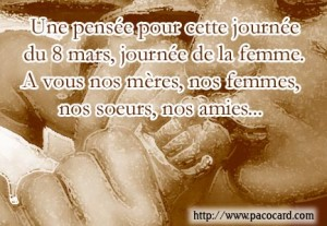 8 mars - journée internationale de la femme.  dans Coup de coeur journee-de-la-femme-300x207