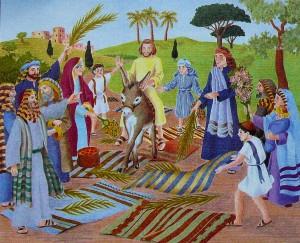 la fête des rameaux